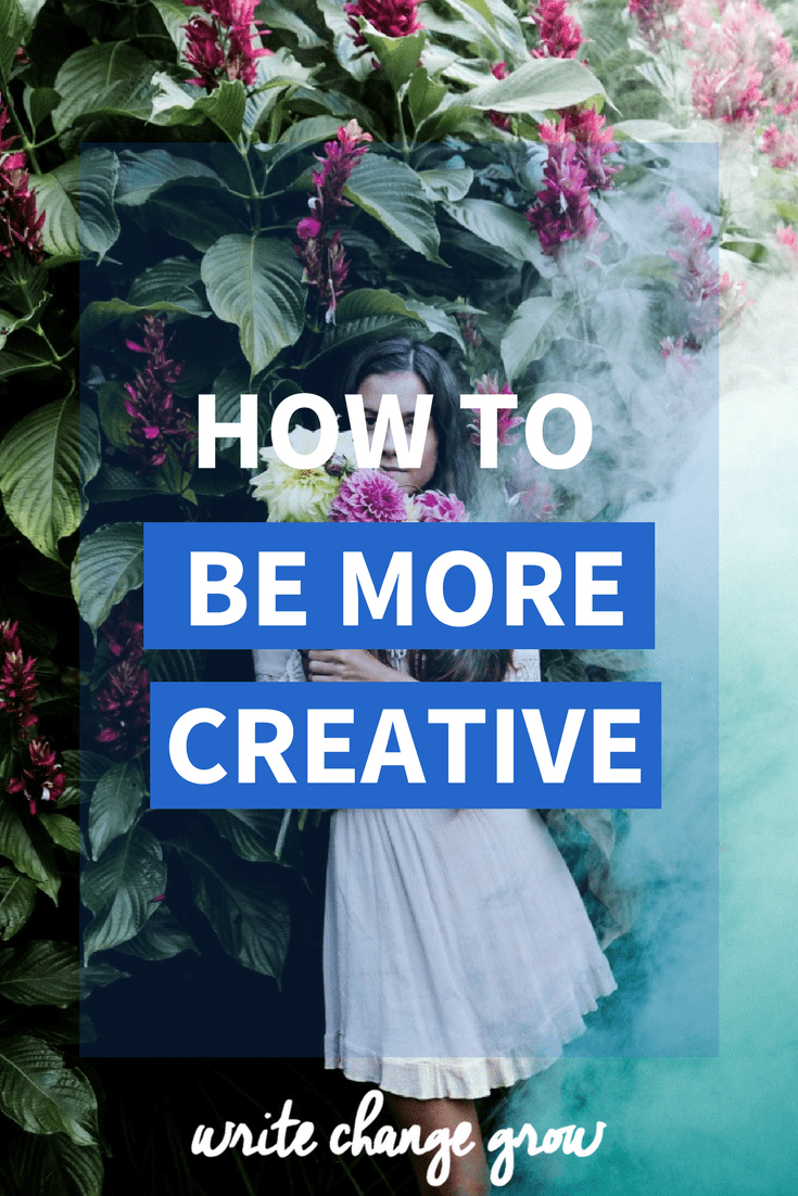 Want to be more creative? Read my 15 tips on how to be more creative.