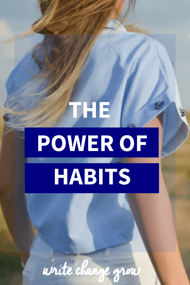 Habits are powerful. Embrace the power of habits to improve your life. Read the post to learn how to change a habit.