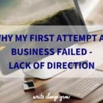 Don't make the same mistakes with your business. Read about my four big mistakes and how you can stop them happening to you.
