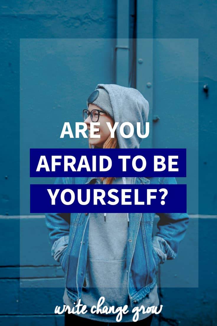 Are you afraid to be yourself? It's time to be brave and embrace your true self.
