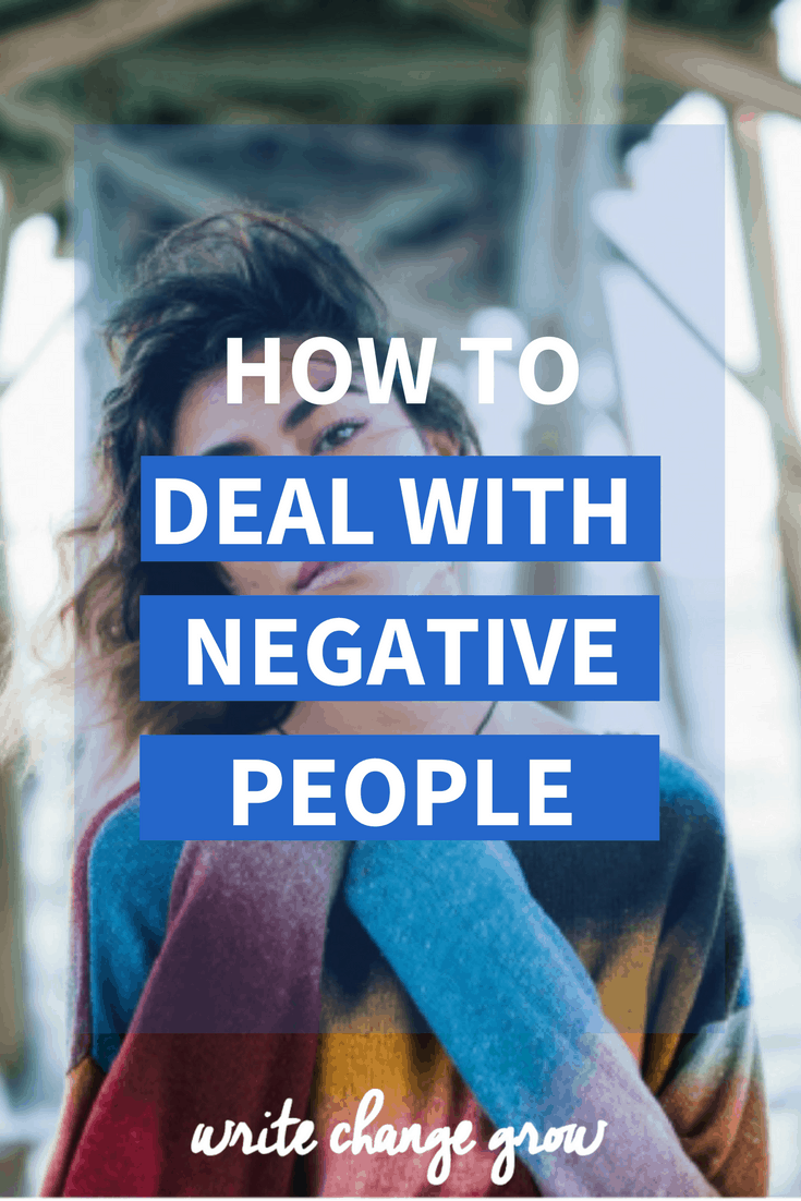 Struggling to deal with negative people? Read How to Deal with Negative People for 9 tips that can help.