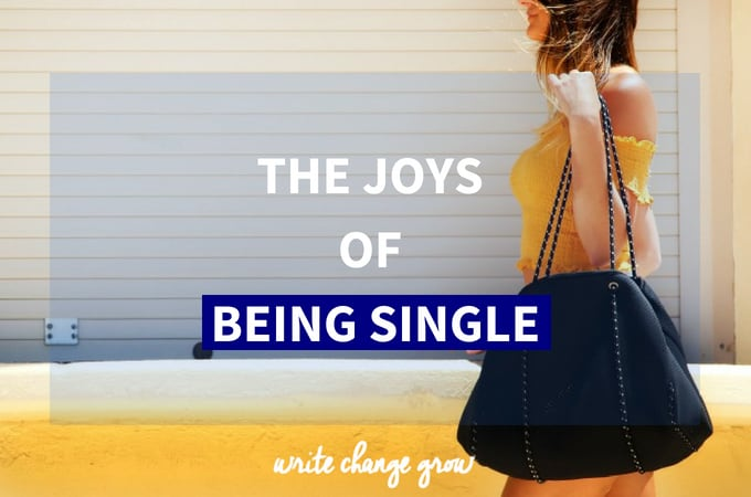 The Joys of Being Single