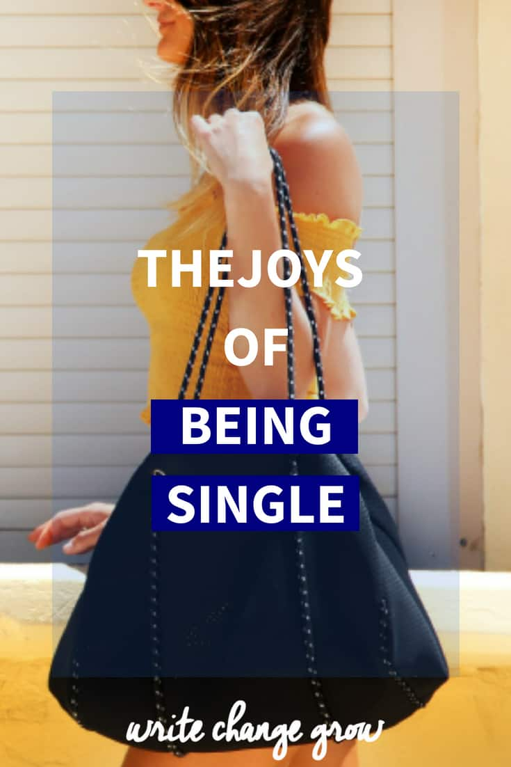 Being single often gets a bad rap but it definitely has a lot of joys as well. Read The Joys of Being Single.