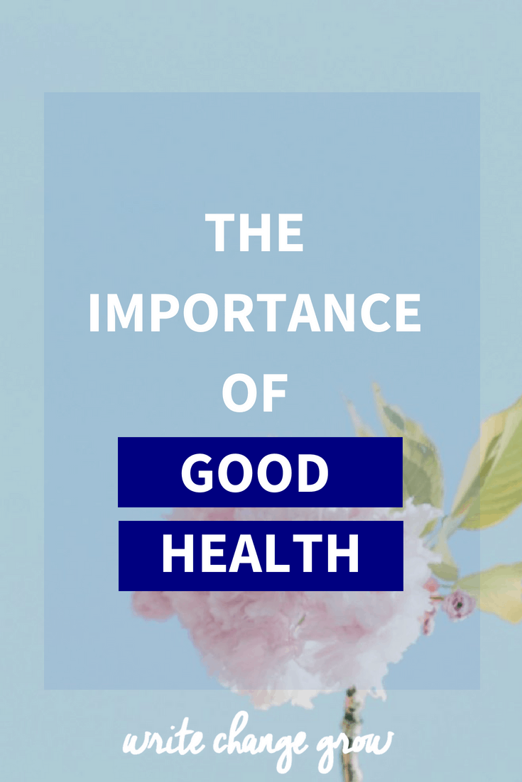 Understanding the importance of good health.