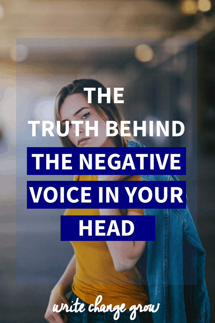 Everyone has that overcritical voice in their head but the great news is you get to choose and decide what you believe. Read The Truth Behind The Negative Voice in Your Head.