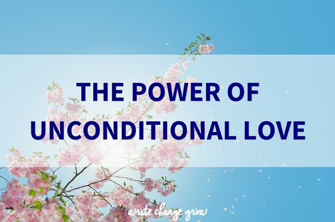Love is powerful. Time to get your unconditional love on!
