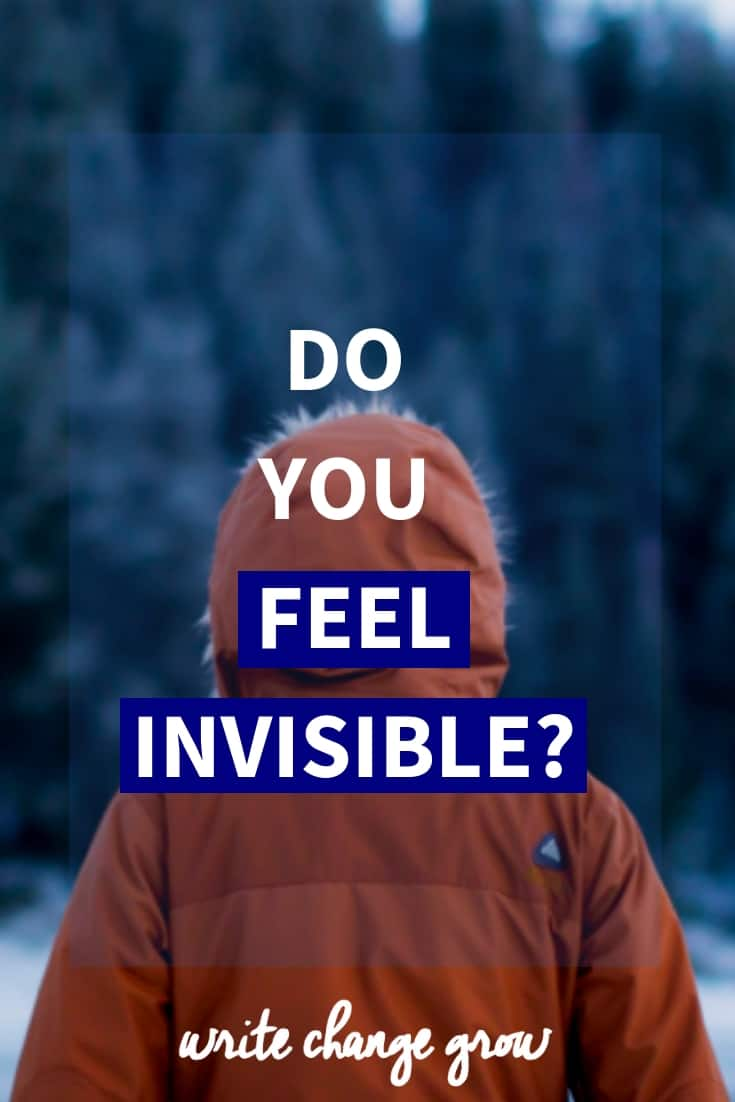Do you feel invisible? Do you sometimes feel like people look straight through you? It's not a nice feeling but definitely something you can work on. Read Do You Feel Invisible?