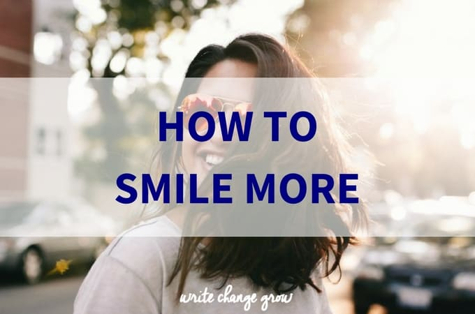 How to Smile More