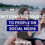 Want to be happier? Don't compare yourself to people on social media.