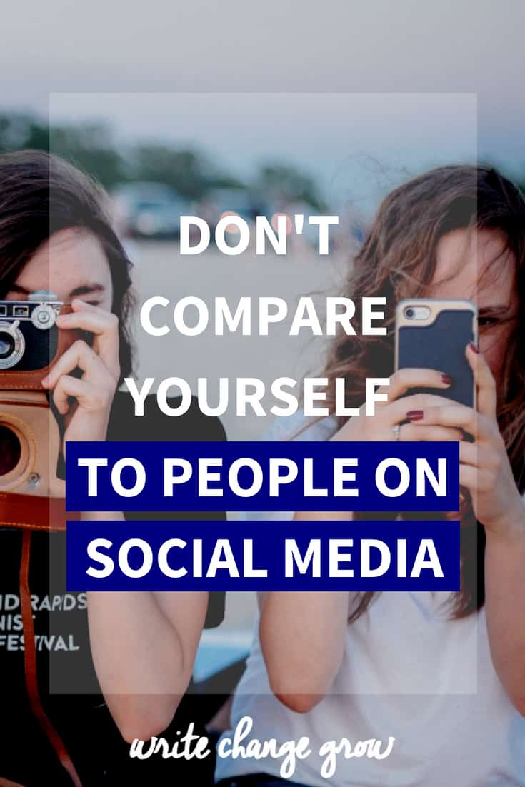 There are many reasons you shouldn't compare yourself to people on social media. Read the post to understand why you shouldn't be comparing yourself.
