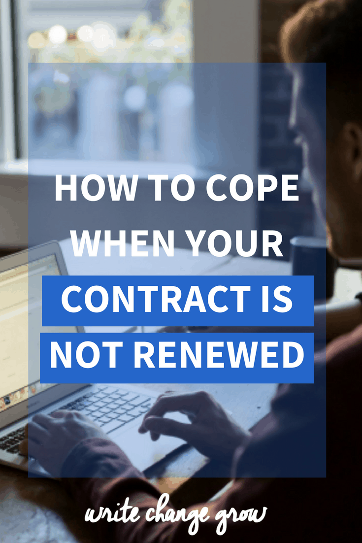 Being called into a meeting room and told your contract is not being renewed can come as a huge shock. If you are on a fixed term contract of any kind I suggest you read how to cope when your contract is not renewed.