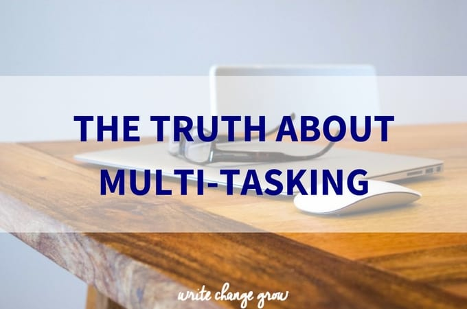 affects of multi tasking Bob hartman, founder and partner at agile for all and certified scrum trainer and coach, recently wrote an article on peter drucker's view is integral to the values of scrum in this article he.