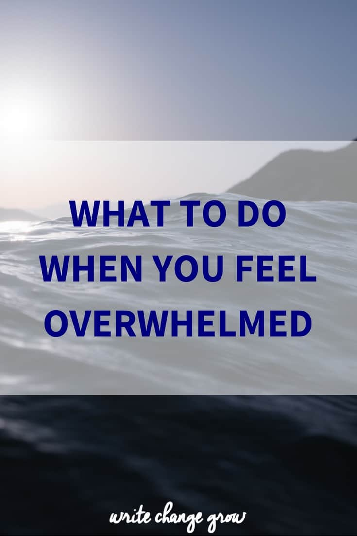 Feeling overwhelmed? Click to read more.