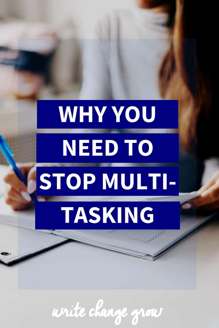 Are you a multi-tasker? Think it's helping your productivity? You might be wrong about that. Read Why You Need to Stop Multi-tasking.