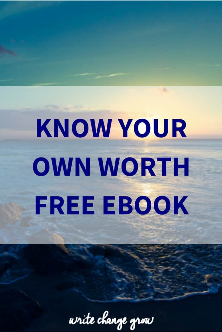 It's time to truly know your own worth. Let's do this!