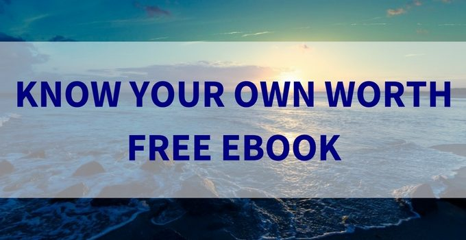Know Your Own Worth – Free eBook Launch