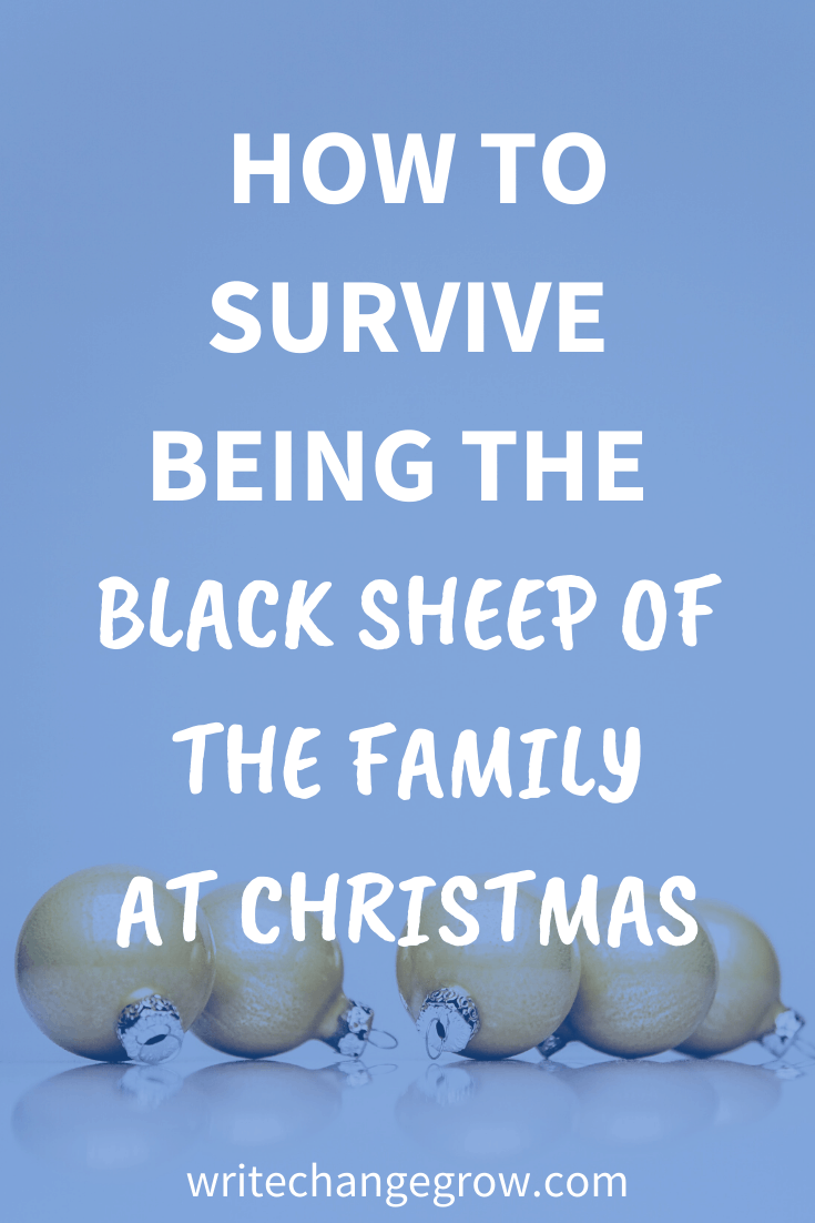 How to Survive Being the Black Sheep of the Family at Christmas