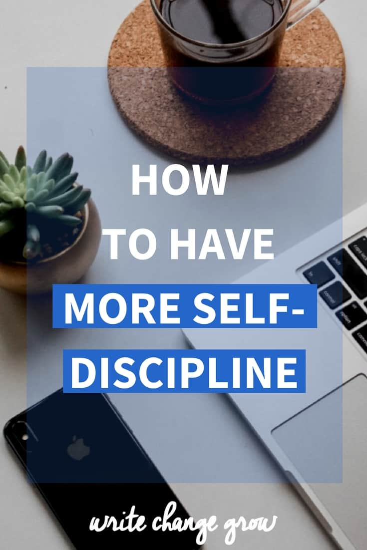 Self-discipline can take our lives to the next level. Click through to read how to have more self-discipline.