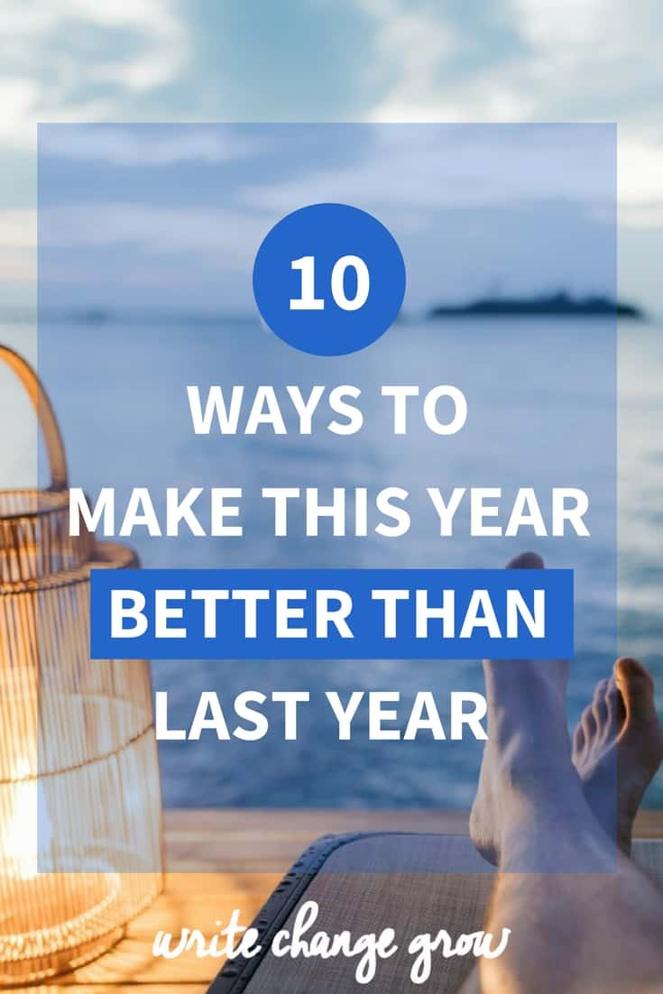 What are you going to do to make this year better than last year?