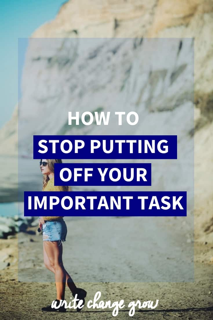 Are you always putting things off? If so, it's time to stop. Read How to Stop Putting Off Your Important task to get yourself moving.