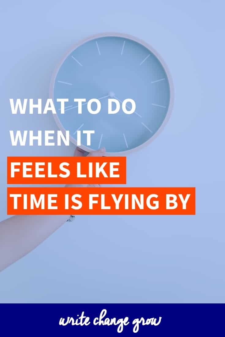 Feel like time flying by