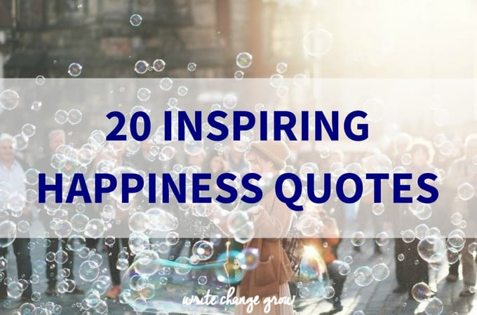 20 Inspiring Happiness Quotes