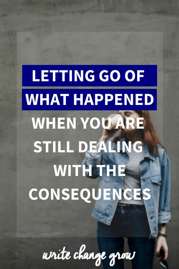 Letting go of what happened can be difficult. Read tips on how to let go of negative emotions when you in the middle of a challenge.
