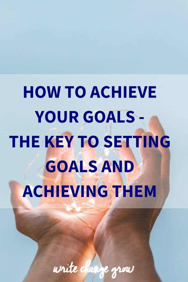 how to write about achieving goals