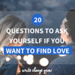 Want some thought-provoking questions to see how ready you are for your next relationship? Read 20 Questions to Ask Yourself If You Want to Find Love