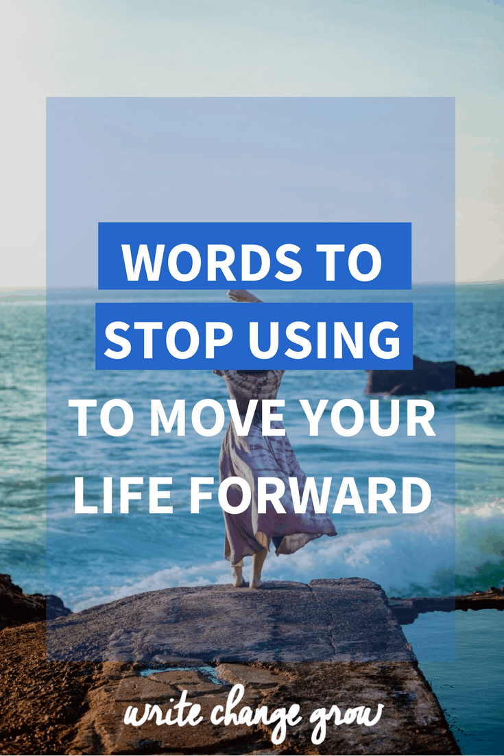 Certain words can hold you back and play havoc with your self-worth. Read about 13 toxic words and phrases to stop using to move your life forward.