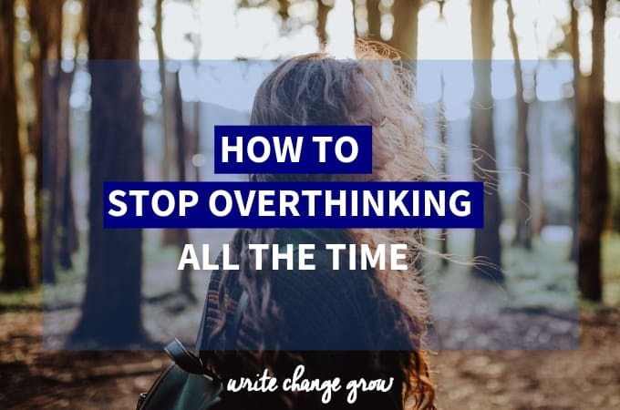 Overthinking? Does it stop you sleeping at night? Distracted when you are trying to relax? Read How to Stop Overthinking